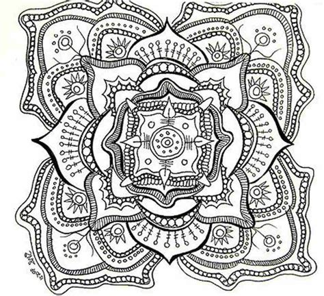 Mandala Coloring Pages Free Printable For Adults | free mandala coloring pages for adults coloring home