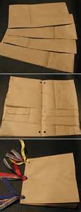 How To Make Paper Bag Books - best 25 paper bag books ideas on paper bag