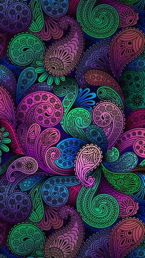 paisley pattern iphone wallpaper 17 best images about paisley on pinterest iphone