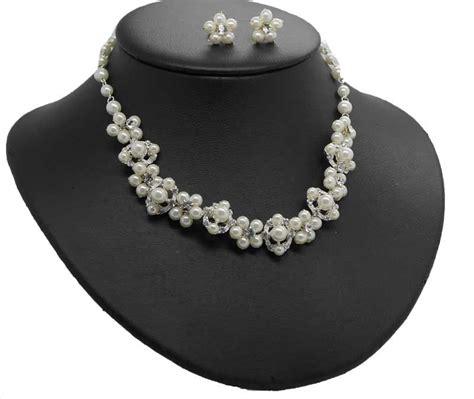 Brautschmuck Mit Perlen by Brautschmuck Mit Perlen In Offwhite Zur Hochzeit
