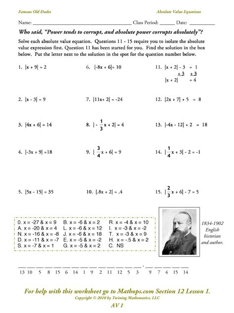 Graphing Absolute Value Equations Worksheet Answers by Algebra 2 Absolute Value Equations And Inequalities