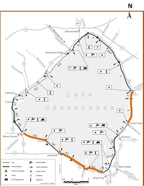 florida trail maps update on florida trail closures around lake okeechobee