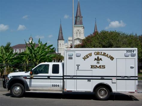 truck in orleans orleans ems truck ambulances ambulance