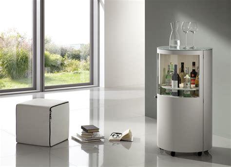 Meuble Bar Laqué Blanc meuble bar contemporain en bois laqu 195 169 blanc strech die d