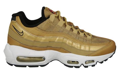 s shoes sneakers nike air max 95 quot metallic gold