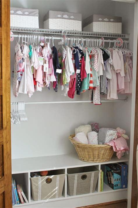 Nursery Closets by Best 25 Nursery Closet Organization Ideas On