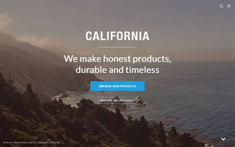 shopify themes california 30 beautifully designed shopify themes design shack
