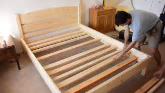 building a size bed from 2x4 lumber