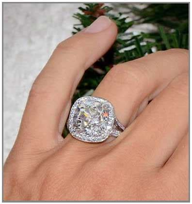 Wedding Rings Big by Big Engagement Rings That Excite