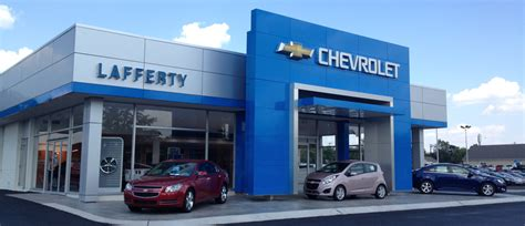 lafferty chevrolet hours and map address directions to