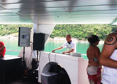 party boat hire koh samui event private beach party wedding blog samui soundhire