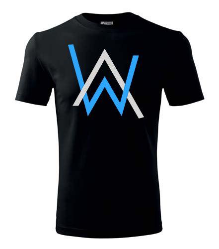 alan walker official merchandise tričko alan walker