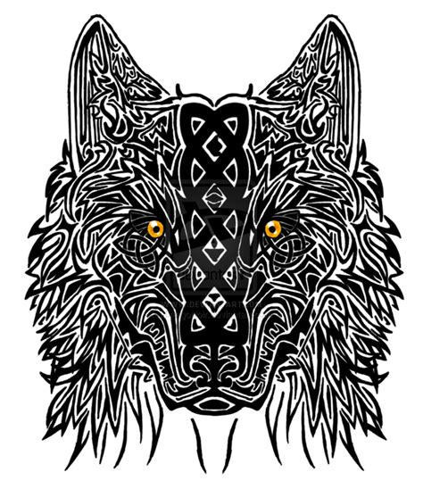 celtic wolf tattoo celtic tattoos and designs page 134