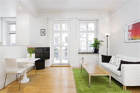 interior design small apartment small and thoughtful swedish apartment interior design