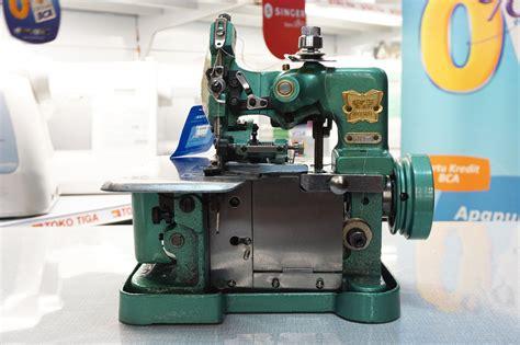 Benang D 27 Np B jual mesin jahit obras 3 benang butterfly gn1 gn 1 toko tiga mesin jahit