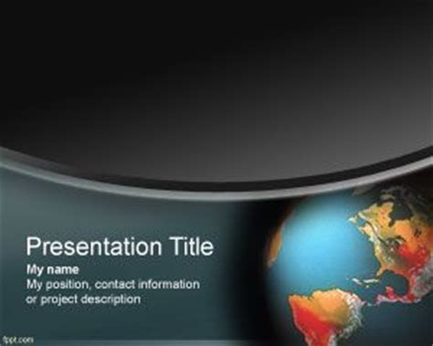 ppt themes on global warming global warming powerpoint template