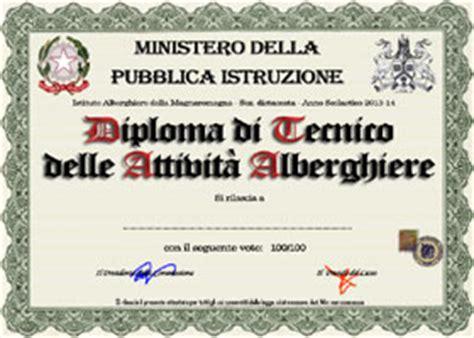 diploma alberghiero cucina falsi diplomi crea e sta finto diploma di maturit 224
