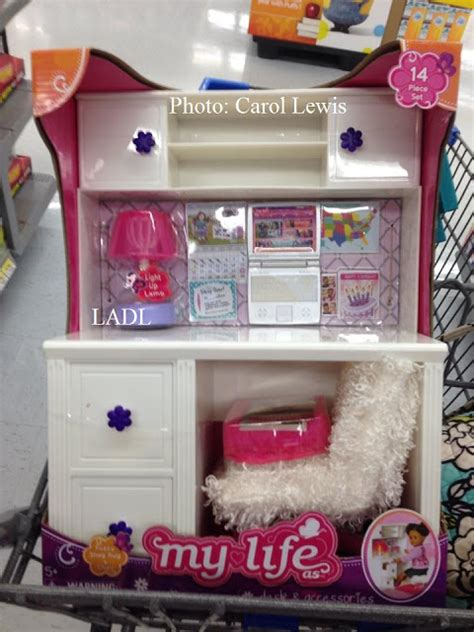 american doll desk set living a doll s life in store report new desk set my