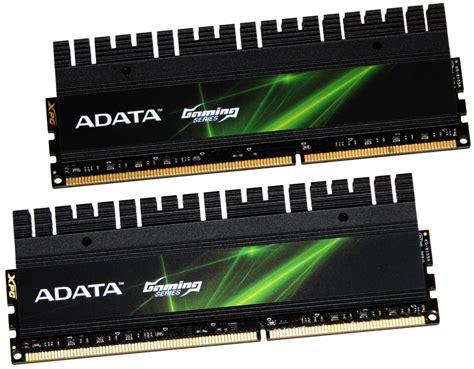 Ram Pc Dual adata xpg gaming series v2 0 pc3 19200 16gb dual channel memory kit review every reviews
