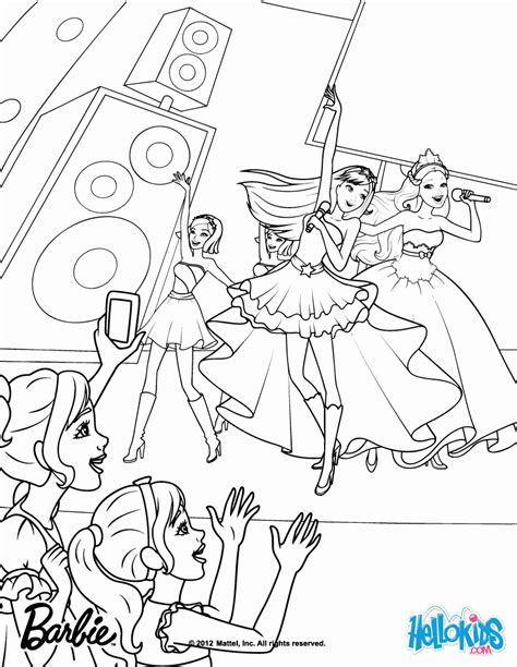 coloring pages for barbie princess and the popstar barbie princess and the popstar coloring pages coloring home