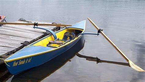 sculling boat design sculling skiff design boatbuilders site on glen l
