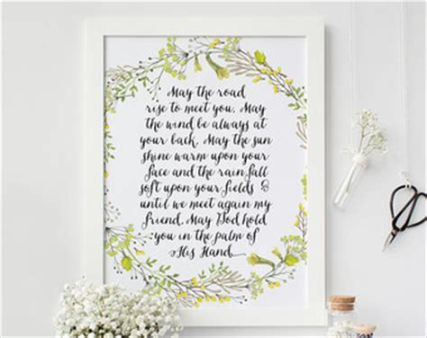 Wedding Quotes Road by Blessing Etsy