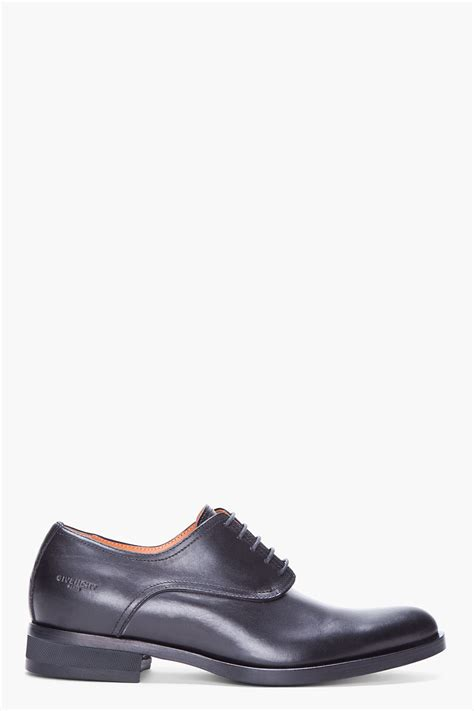 givenchy black classic dress shoes in black for lyst