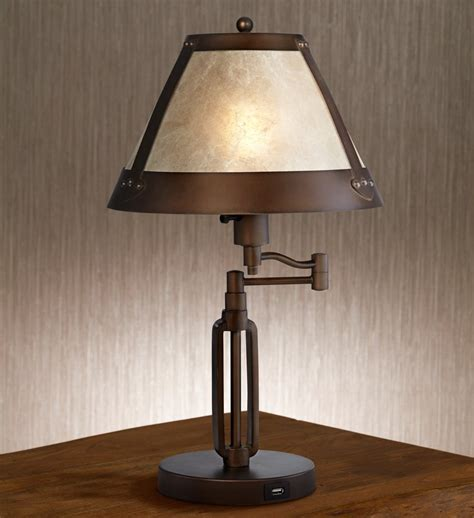 Rustic Bedroom Lighting Lighting Rustic Table Ls With Ls On And