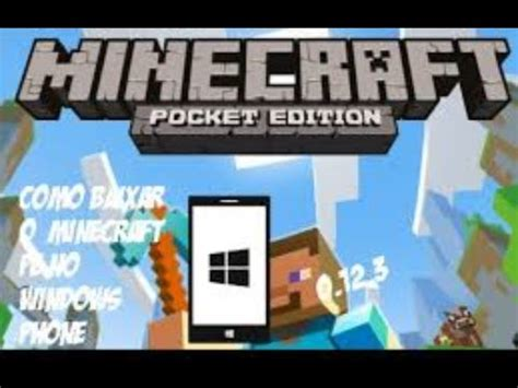 microsoft no lumia como baixar minecraft pocket edition 532 full download como baixar minecraft pocket edition pelo