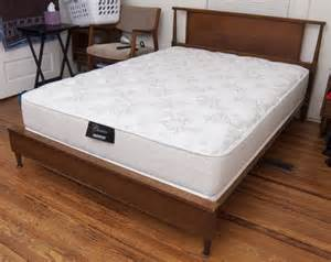 Bed Frame For Thin Mattress What S The Best Mattress Turned My 9 Inch Box