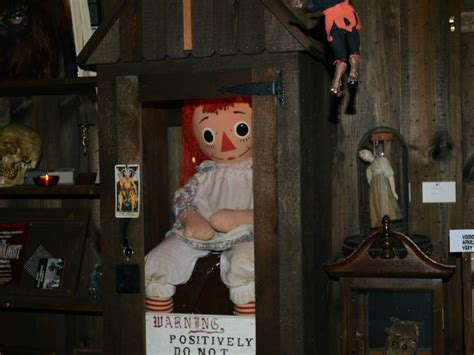 annabelle doll in museum the true story of annabelle the doll annabelle the doll