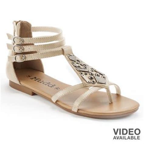 mudd sandals kohls mudd embellished gladiator sandals kohls shoes let s