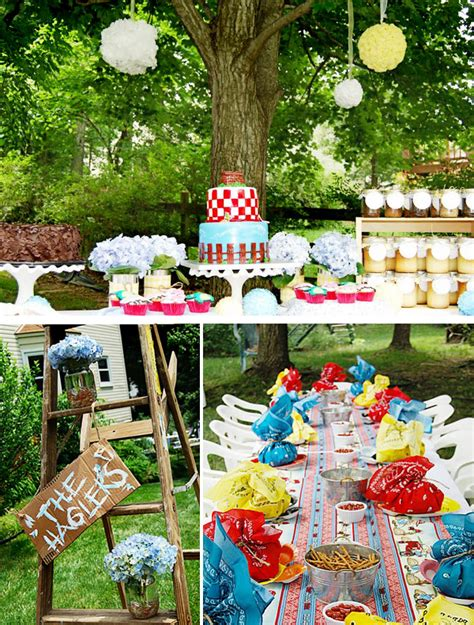 summer backyard party a charming southern style summer picnic hostess with