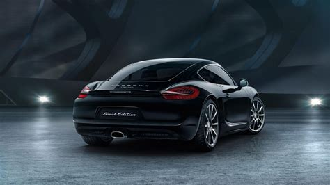 porsche back 2016 porsche cayman black edition picture 649102 car