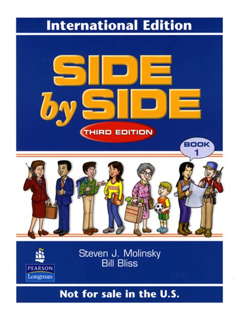 side by side student book with audio highlights level 1