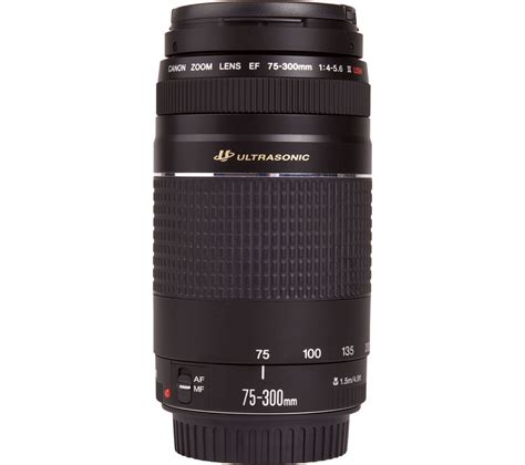 buy canon ef 75 300 mm f 4 0 5 6 usm iii telephoto zoom
