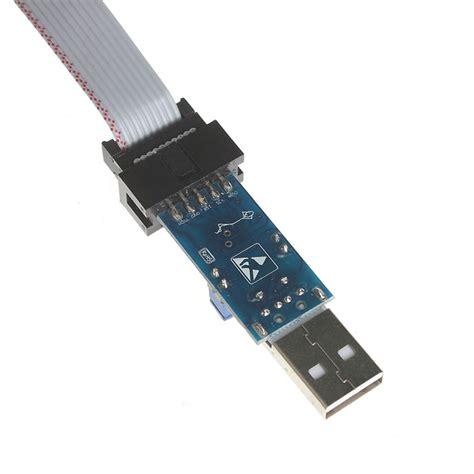 Usb Isp usbasp usb isp programmer board kit for at89s52 avr silver black free shipping dealextreme