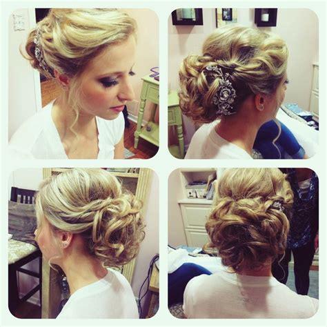 wedding bridal hairstyle updo bridesmaid soft hair hair by www wendyzarate