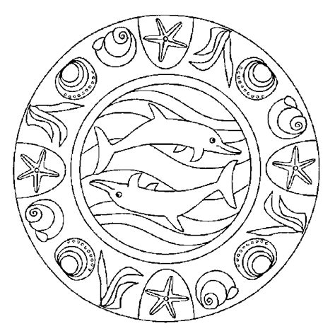 fish mandala coloring page coloring pages fish mandala coloring pages free and printable