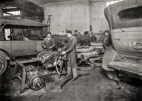 Garage Size Shorpy Historic Picture Archive Intensive Car Care