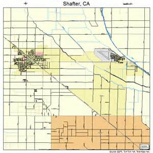 shafter california map 0671106