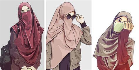 picture cartoon muslimah impremedianet