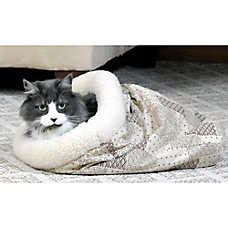 cat beds petsmart kitty crinkle sack cat bed cat covered beds petsmart
