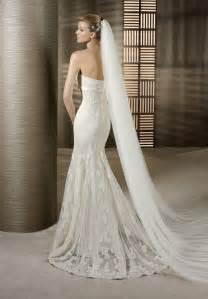 mermaid wedding dress strapless lace mermaid wedding dress sang maestro