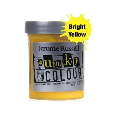 jerome russell punky color semi permanent conditioning jerome russell punky colour semi permanent hair color