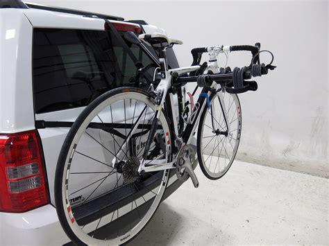 saris bike porter 3 bike rack fixed arms trunk mount