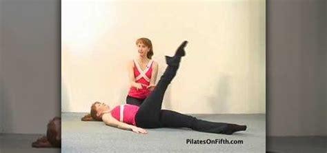 leg circle pilates exercise pilates