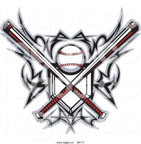 royalty free clip art vector logo of a baseball home plate