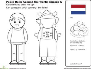 printable paper dolls from around the world paper dolls around the world europe x worksheet