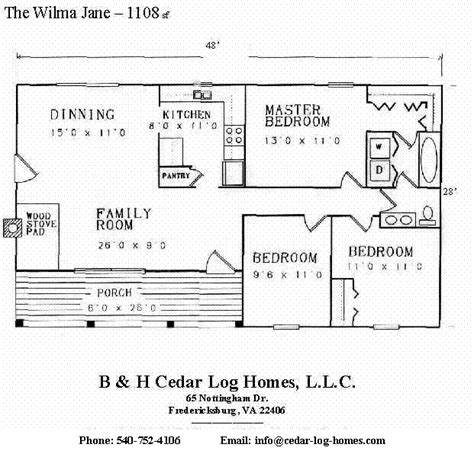 Katahdin Log Home Floor Plans by Log Home Floor Plans Ranch Style Log Cabin Floor Plans